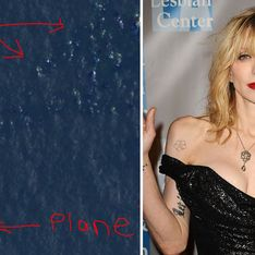 Courtney Love : Elle a retrouvé l'avion disparu de Malaysia Airlines !