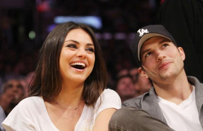 Mila Kunis e Ashton Kutcher