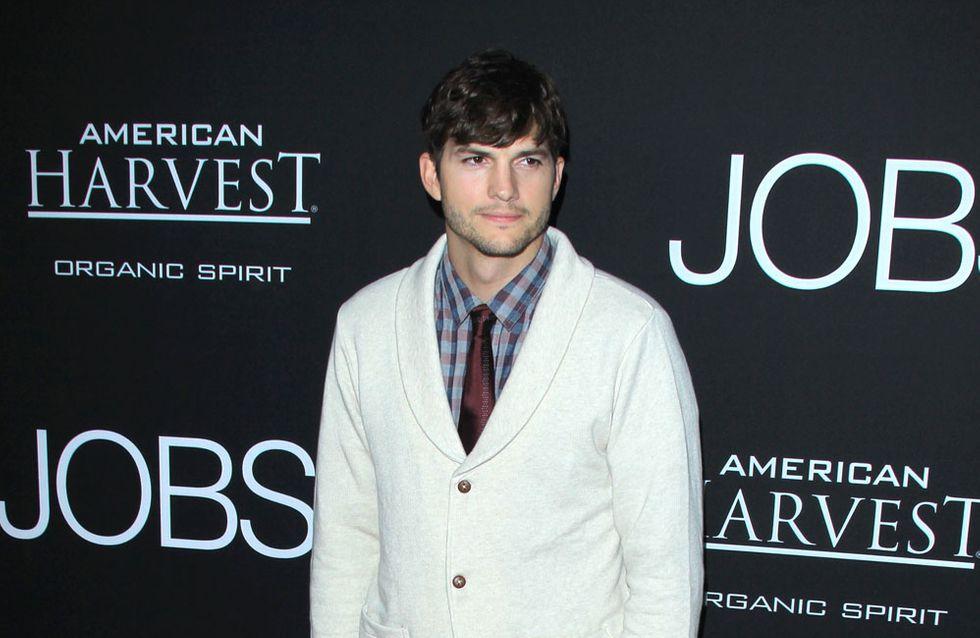 Ashton Kutcher fragt Vater um Erlaubnis