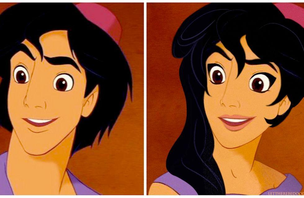 Si les princes Disney étaient des filles (photos)