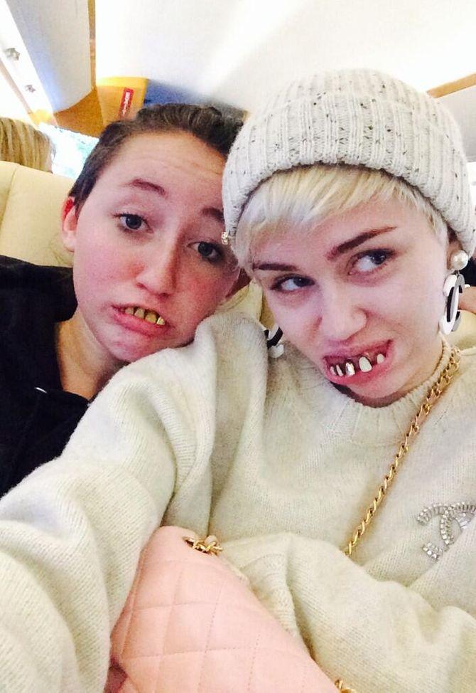 Miley Cyrus et sa soeur Noah