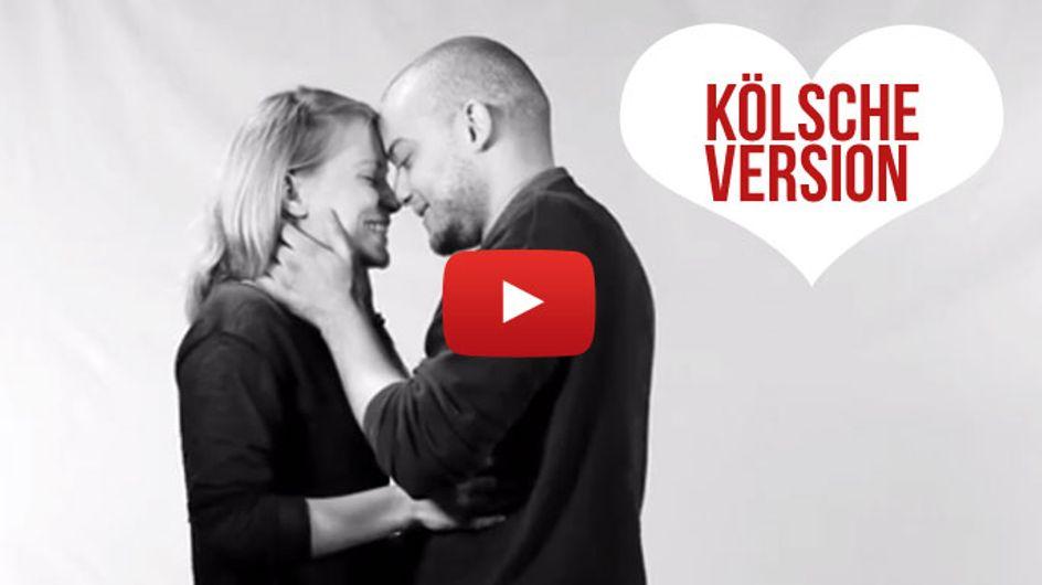 Küssen auf Kölsch: Die deutsche Version des legendären Knutsch-Videos