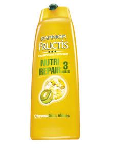 L'après-shampoing démêlant Fructis Nutri Repair 3 huiles de Garnier