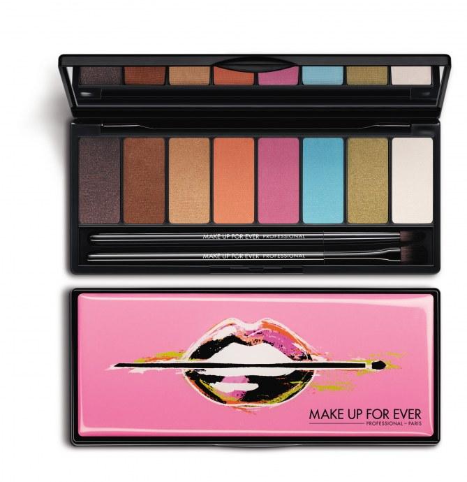 La palette Arty Blossom signée Make Up For Ever