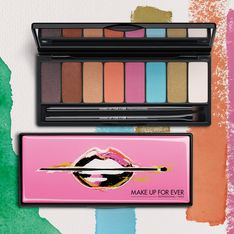 Make Up For Ever édite la palette Arty Blossom