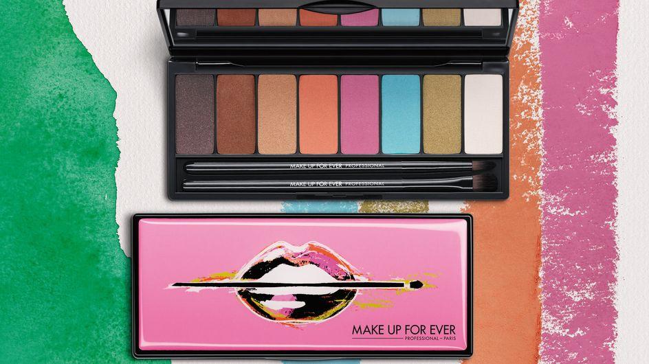 Make Up For Ever édite la palette Arty Blossom