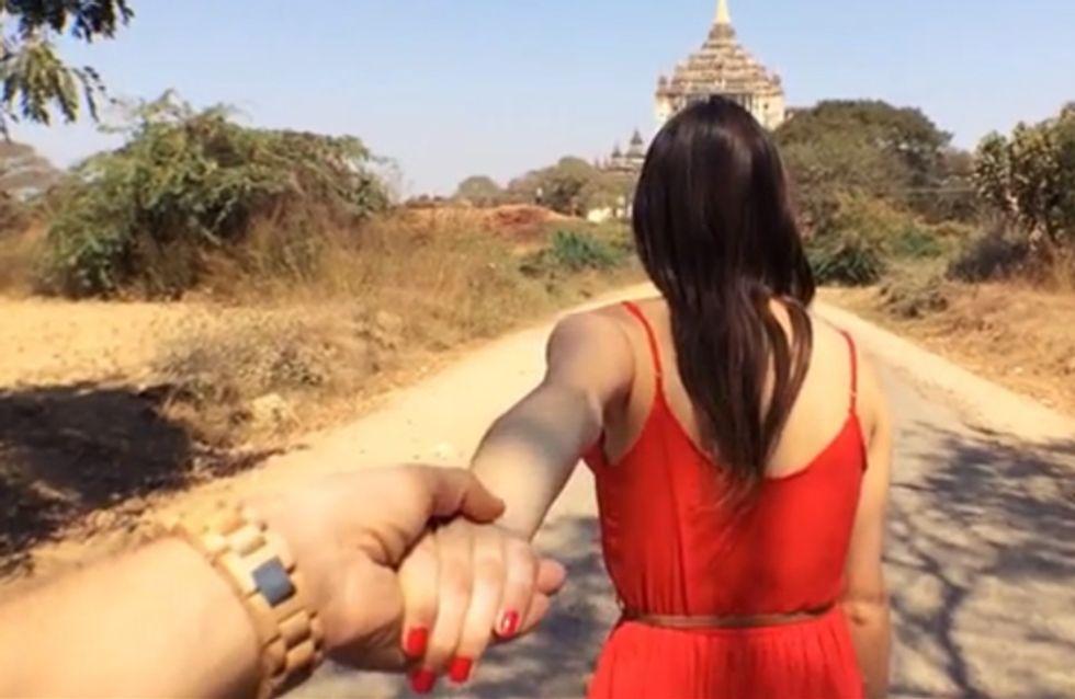 Hand in Hand durch Myanmar: Das romantischste Reisevideo der Welt!