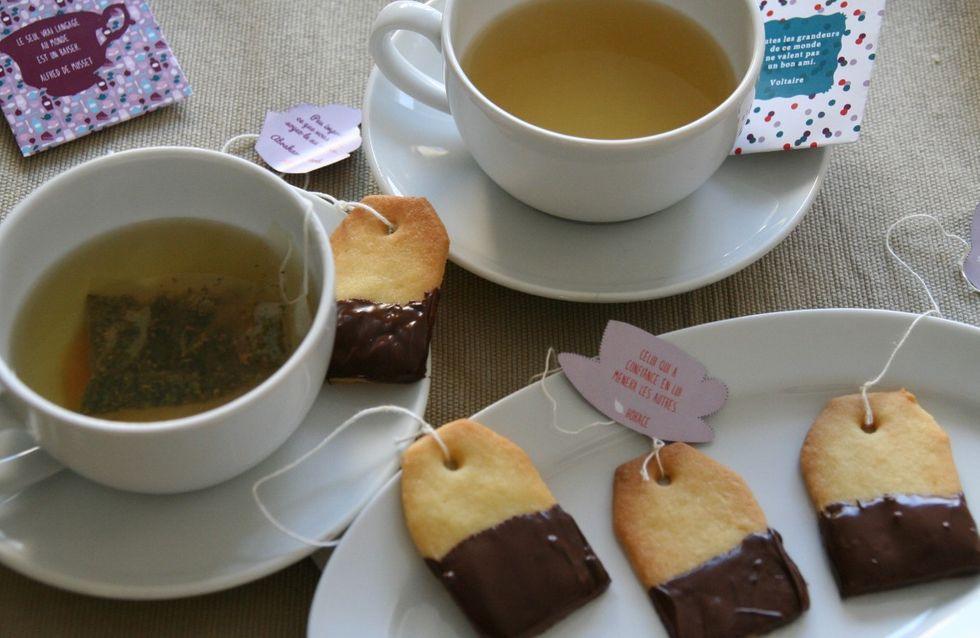 Tea time ! Comment faire des biscuits aussi beaux que bons ?
