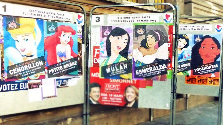 Les princesses Disney se présentent aux Municipales (et elles ont un super programme)