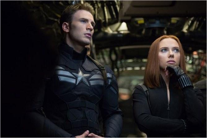 Captain America : Notre rencontre avec Scarlett Johansson et Chris Evans