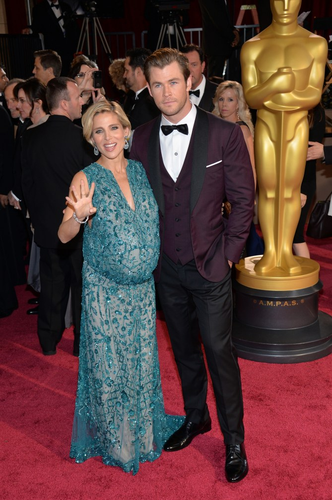 Chris Hemsworth und Ehefrau Elsa Pataky