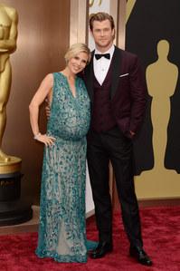 Elsa Pataky très en enceinte aux Oscars 2014