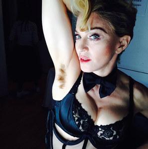 La foto di Madonna che ha fatto tanto discutere