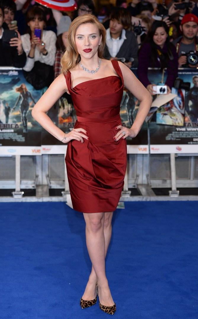 Scarlett Johansson à Londres