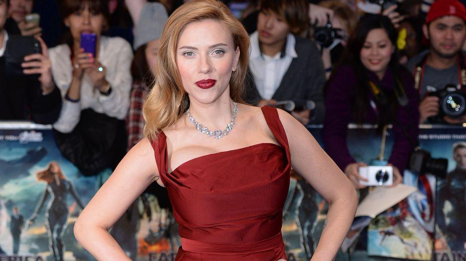 Scarlett Johansson : Un look complètement raté sur le tapis rouge de Captain America (Photos)
