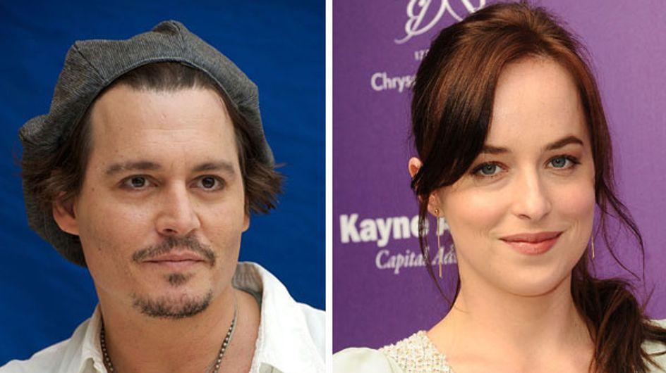 "Dakota Johnson et Johnny Depp : Un joli couple pour ""Black mass"""