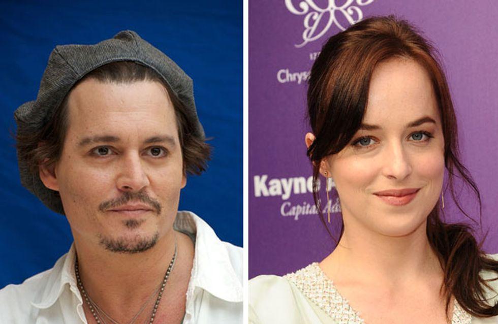 Dakota Johnson et Johnny Depp : Un joli couple pour Black mass