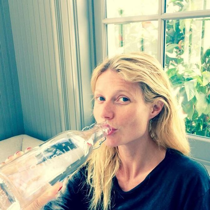 Gwyneth Paltrow, au naturel pour promouvoir la journée de l'eau !