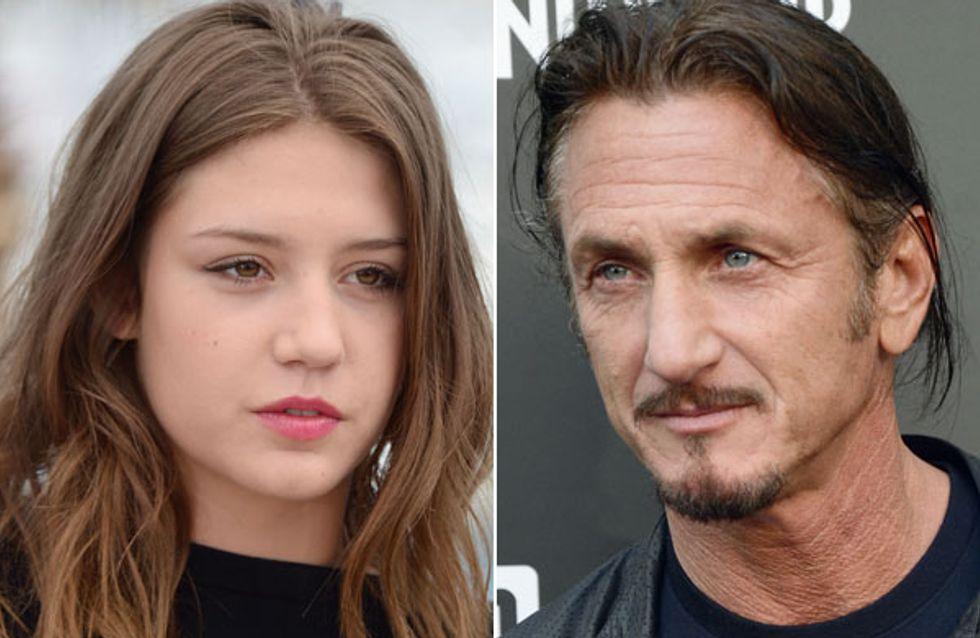 Adèle Exarchopoulos et Sean Penn : Que manigancent-ils ?