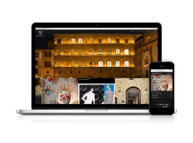 Gucci Museo sui supporti digitali