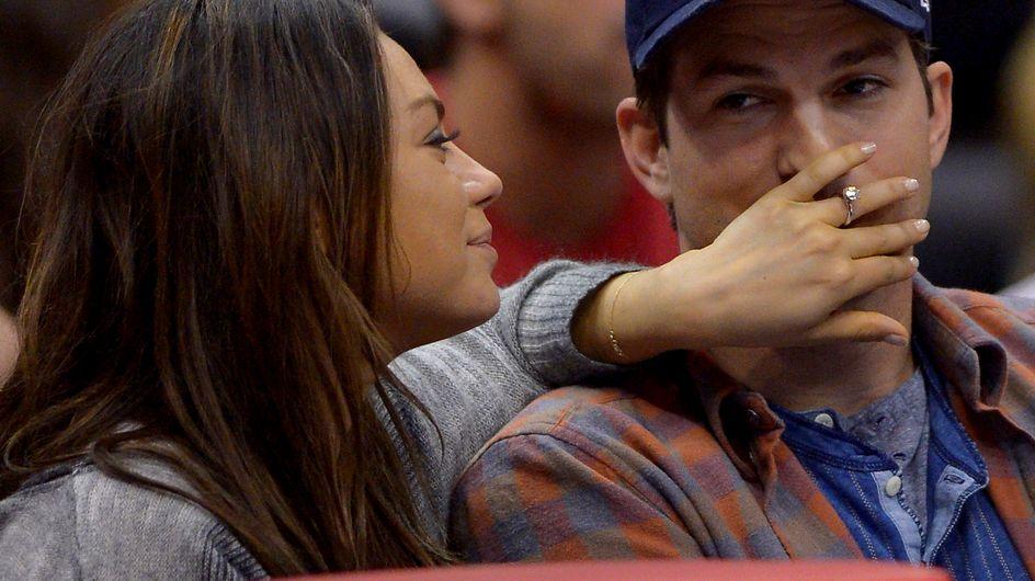 Mila Kunis y Ashton Kutcher esperan su primer hijo