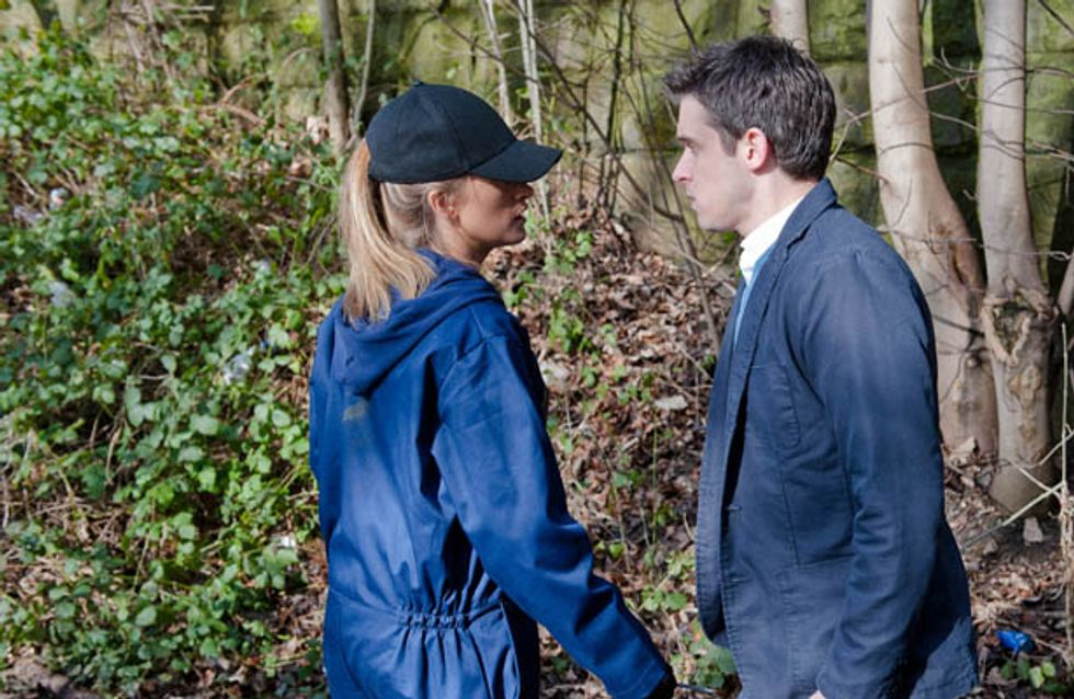 Emmerdale 3/04 – Debbie's past with Cameron is still on her mind