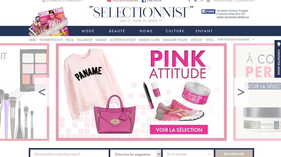 Selectionnist, le site pour acheter les produits tendance que vous repérez dans les magazines