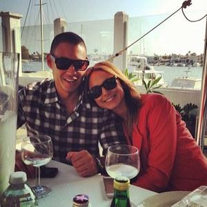 Stacy Keibler et son mari Jared Pobre