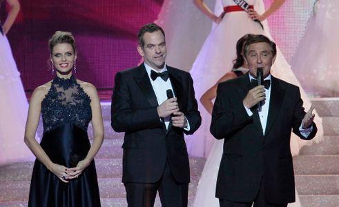 Sylvie Tellier lors de l'élection de Miss France 2014
