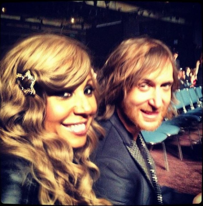 Cathy et David Guetta