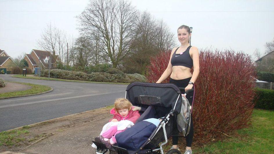 Tu es une jeune maman et tu veux perdre tu poids ? Teste le jogging poussette !