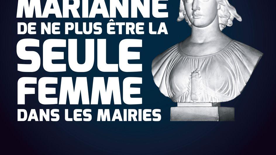 """CARE : """"Le 30 mars souhaitons à Marianne de ne plus être la seule femme dans les mairies"""""""