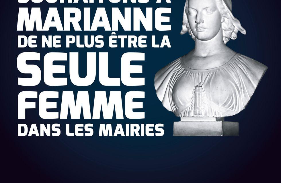 CARE : Le 30 mars souhaitons à Marianne de ne plus être la seule femme dans les mairies