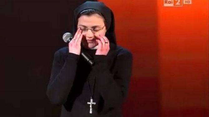 Cette religieuse a mis le feu à la scène de The Voice Italie