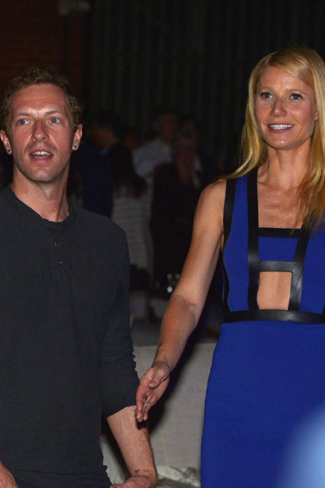 Chris Martin und Gwyneth Paltrow bei einem Charity Event im Februar 2014