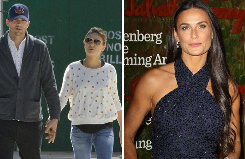Kunis-Kutcher presto genitori: Demi Moore è disperata!
