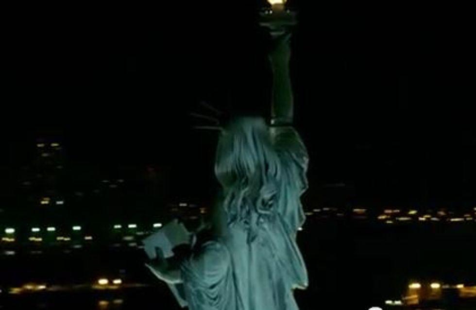 Statue de la Liberté : Elle aussi change de coupe de cheveux ! (vidéo)