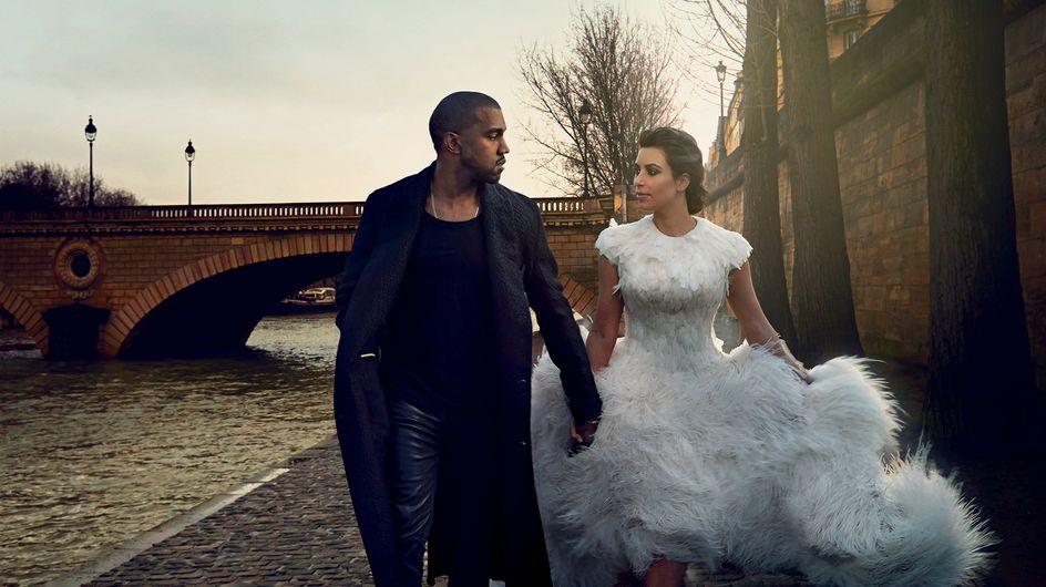 Kim Kardashian veut une robe de mariée comme celle de Kate Middleton