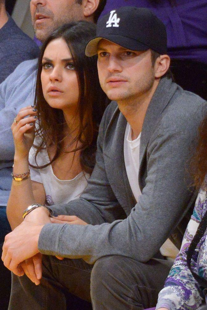 Mila Kunis está esperando seu primeiro filho com Ashton Kutcher