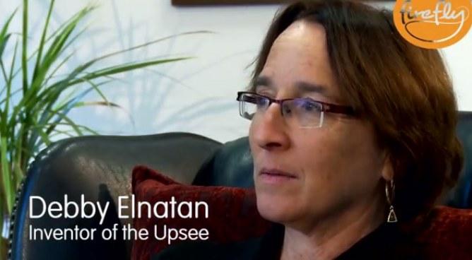 Debby Elnatan, inventrice d'Upsee