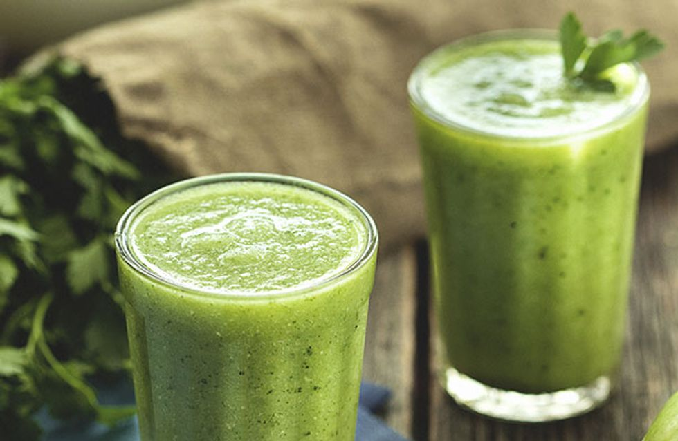 Boost Metabolism, Fight Disease & Detox: The Health Benefits Behind These 14 Green Smoothie Ingredients
