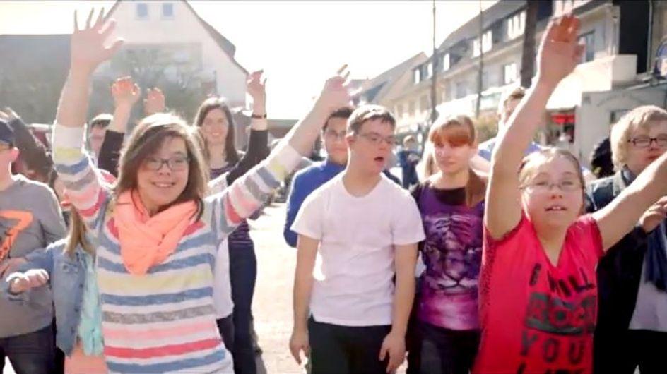 De jeunes trisomiques reprennent le clip Happy dans une vidéo pleine de vie (Vidéo)