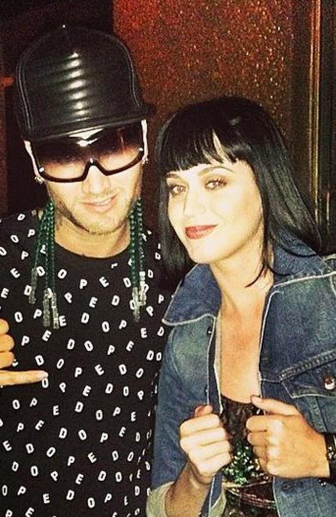 Rapper Riff Raff und Katy Perry