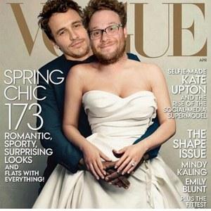 James Franco et Seth Rogen refont le couverture