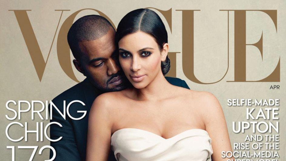Kim Kardashian : Les people se moquent de sa couverture de Vogue