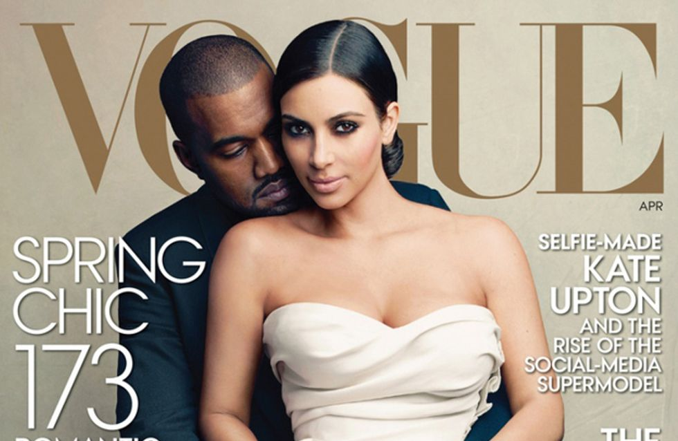 Kim Kardashian : Les people se moquent de sa couverture de Vogue