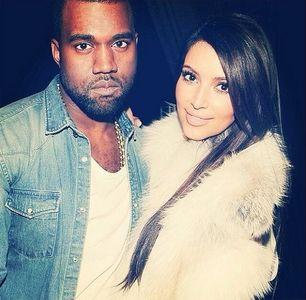 Kim Kardashian et Kayne West