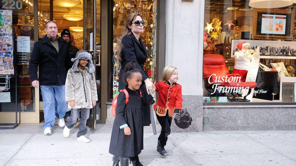 Angelina Jolie : Trop laxiste avec ses enfants ?