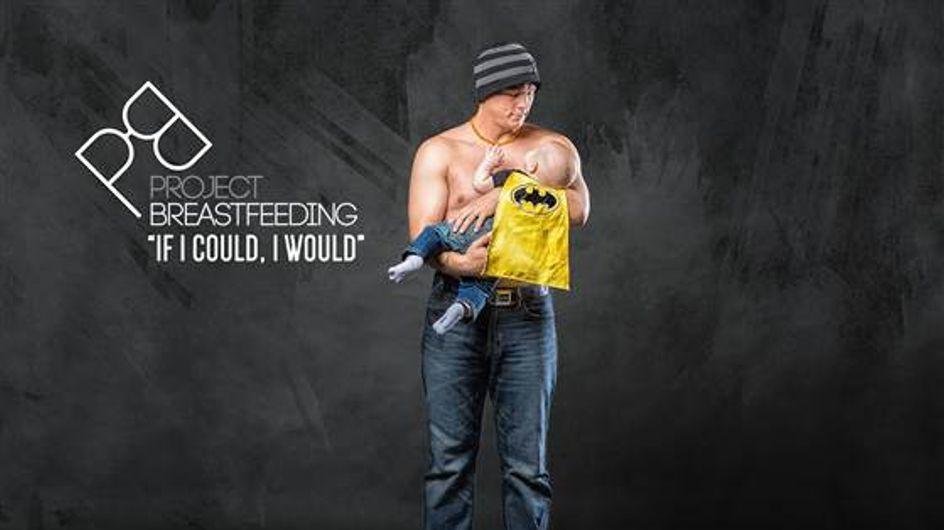 """""""Si yo pudiera, lo haría"""", una campaña para sensibilizar a los papás de la lactancia materna"""