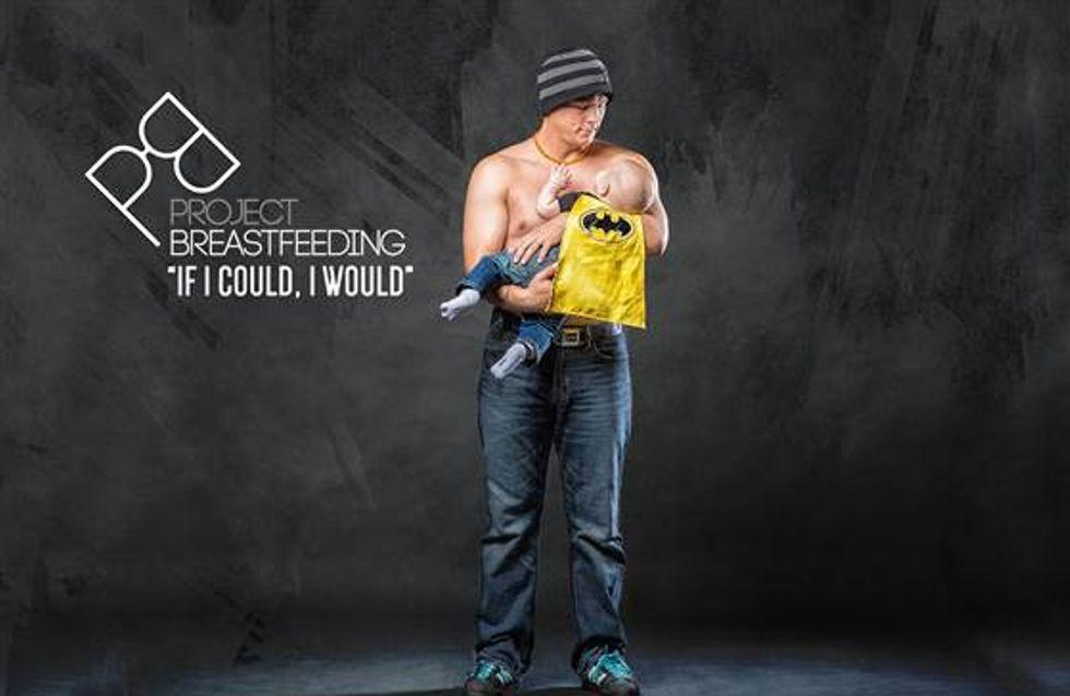 Si yo pudiera, lo haría, una campaña para sensibilizar a los papás de la lactancia materna